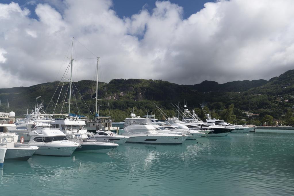 Seychelles yachts